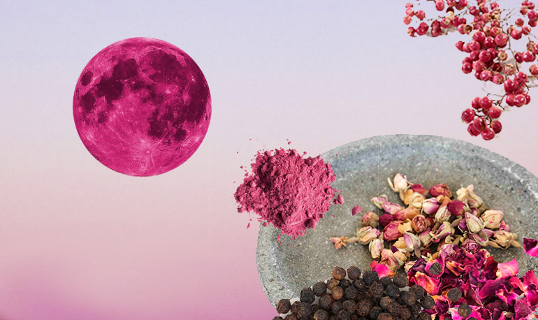 Manifest your wildest flowers! Pink Full Moon Masala.