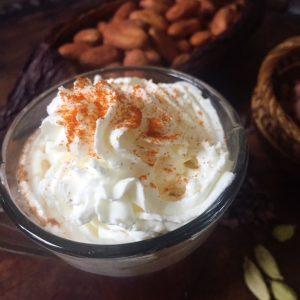 Cacao Chai whipped cream