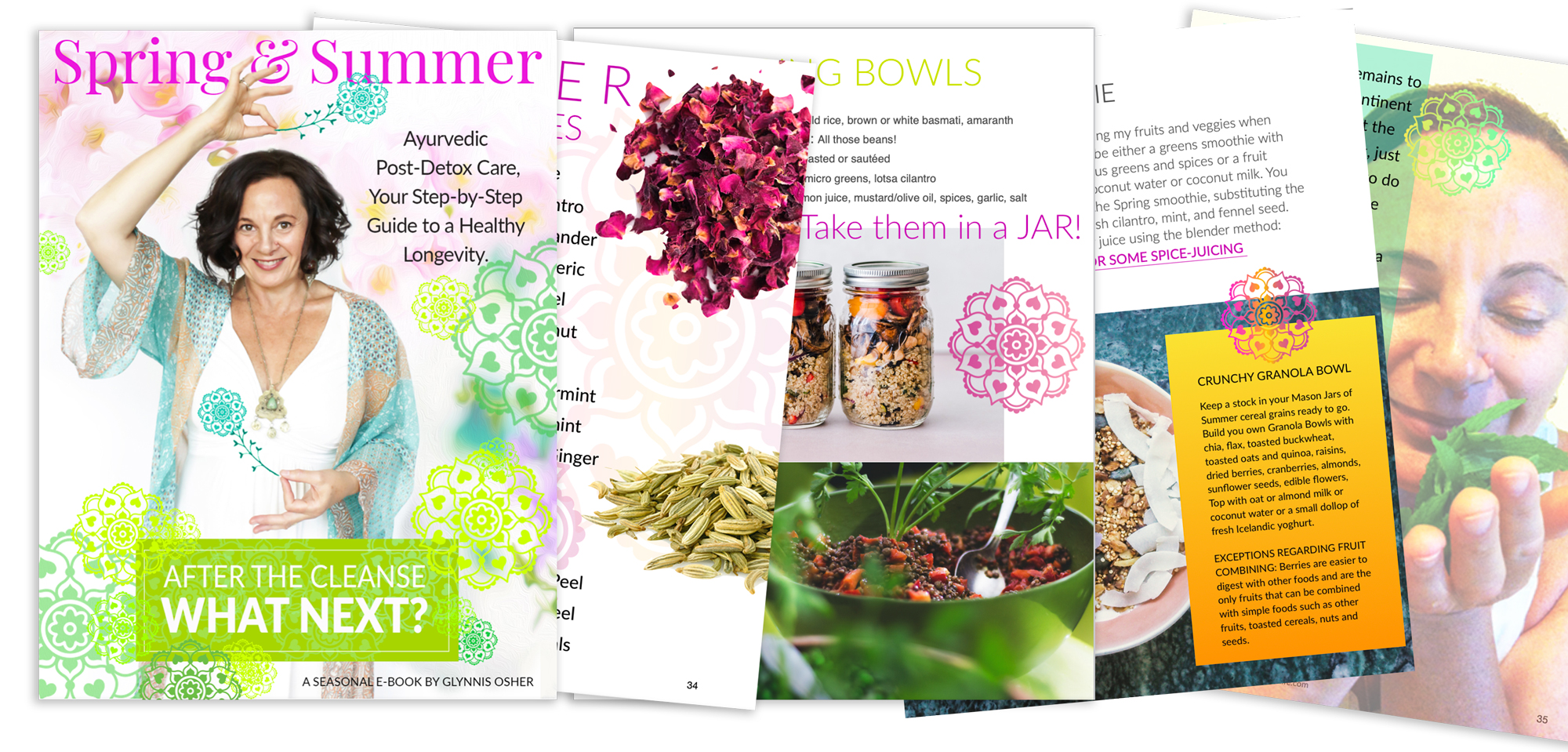 After the Spring Ayurvedic Cleanse ebook cover spread