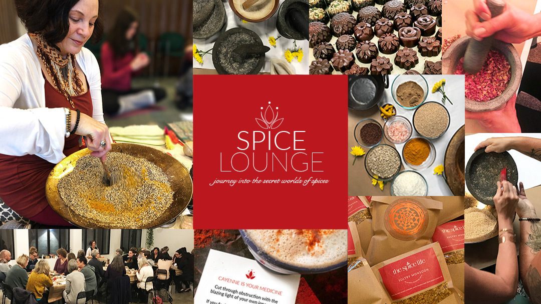 Spice Lounge Ayurvedic meetup and spice experience