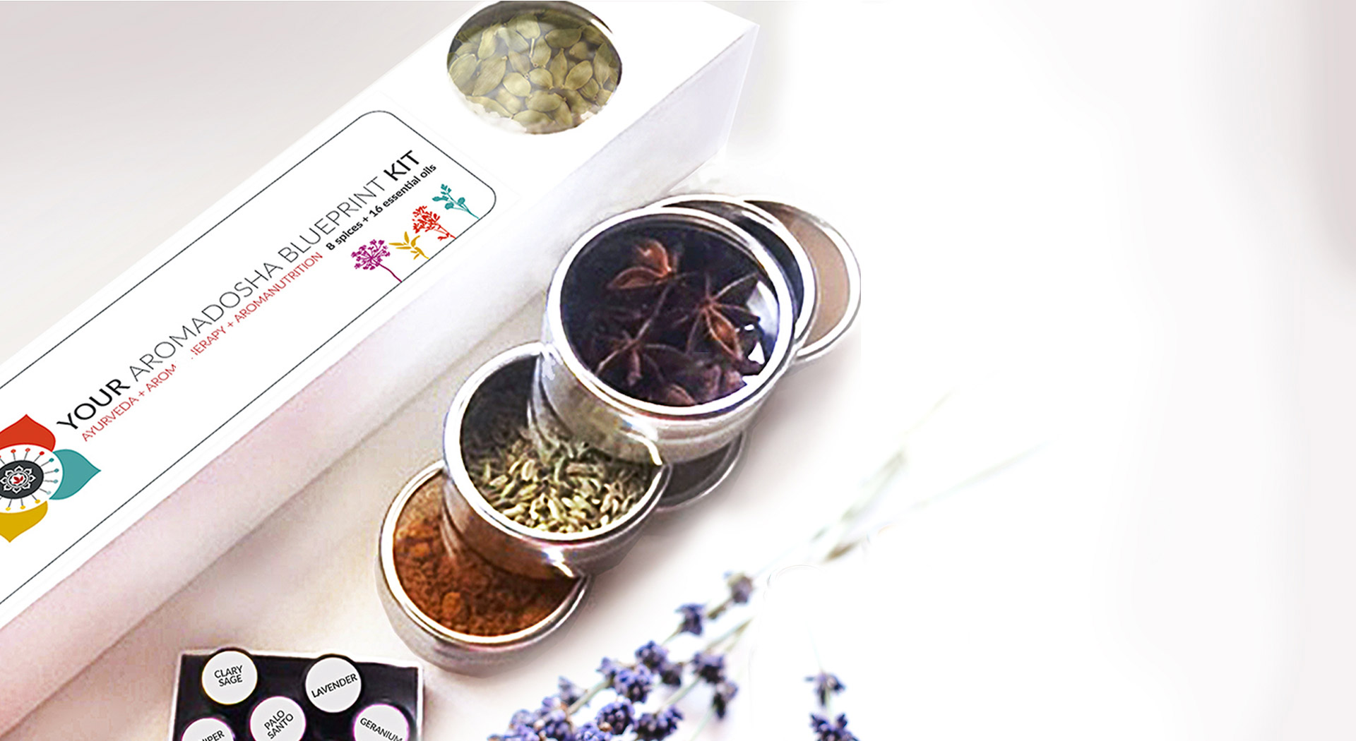 ADBP Spice Kit, spices & lavender