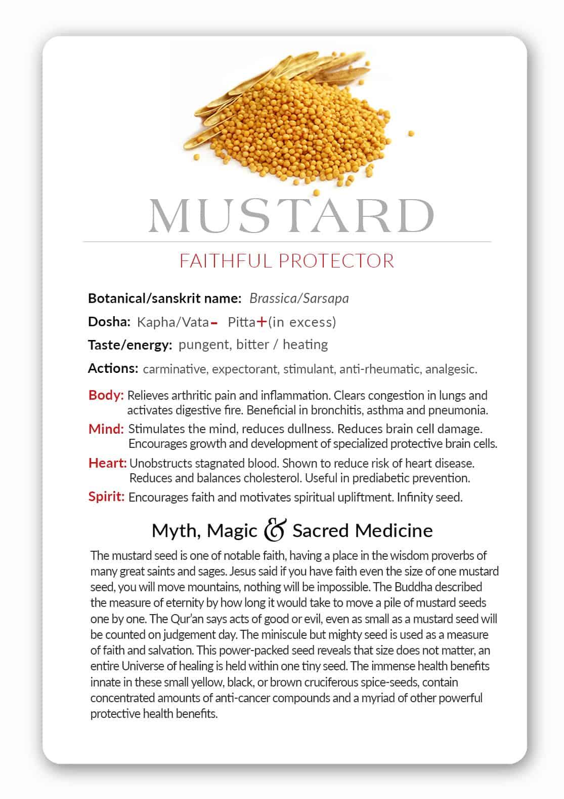 Spice Deck - Mustard