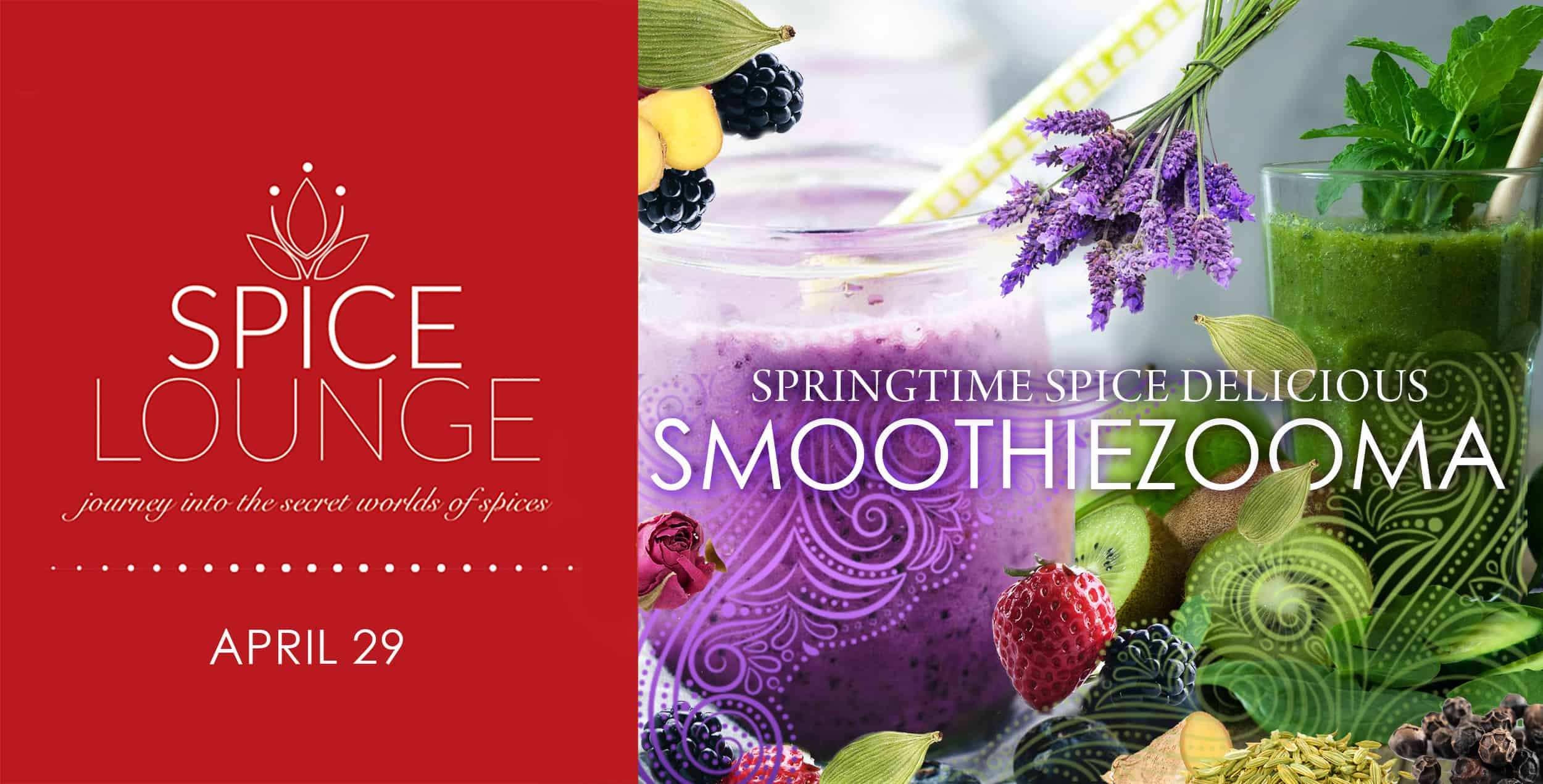 Spice Lounge SmoothieZooma - April 29 2021